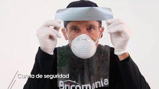 Cómo hacer una careta o máscara protectora