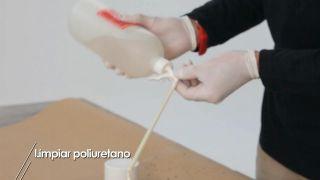 Cómo limpiar la cánula del bote de espuma de poliuretano