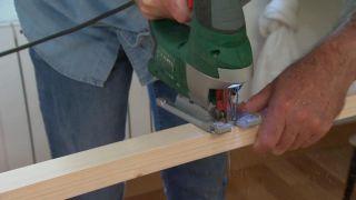 Cómo hacer un perchero de pared con listones de madera