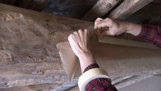 Convertimos un ático de madera en un cuarto de baño - Paso 1