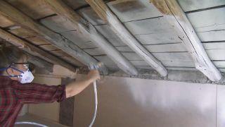 Convertimos un ático de madera en un cuarto de baño - Paso 2