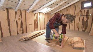 Convertimos un ático de madera en un cuarto de baño - Paso 9
