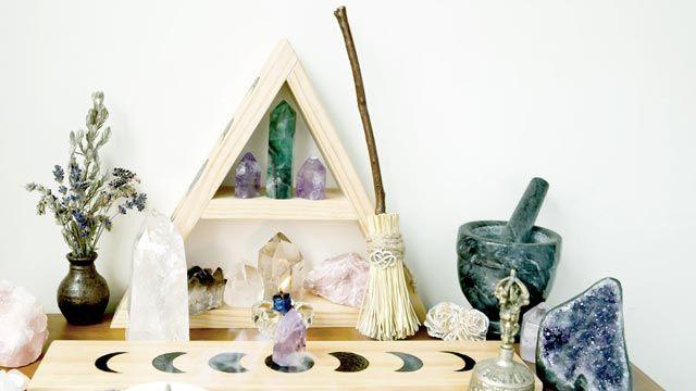 Cómo hacer un altar de inspiración pagana