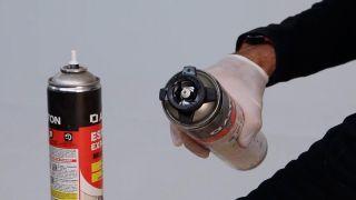 Cómo usar una pistola de espuma de poliuretano