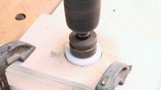 Cómo hacer corte con corona sin hacer agujero central