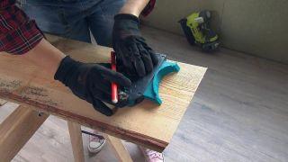 Convertimos una estancia vacía de un ático en una cocina campestre en madera - Paso 3