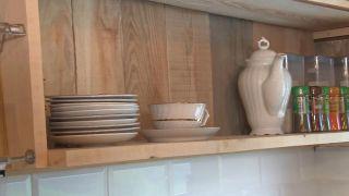 Convertimos una estancia vacía de un ático en una cocina campestre en madera - Paso 6