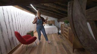 Transformamos una buhardilla vacía en un dormitorio bohemio y rural - Paso 10