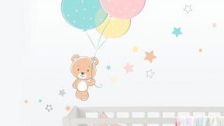 Decorar la habitación infantil con vinilos decorativos