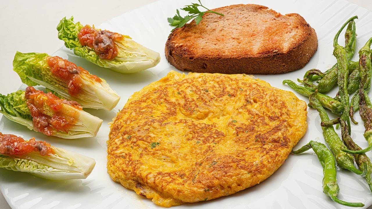 Receta de tortilla de coliflor de Karlos Arguiñano
