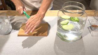 Cortar la manzana - digestivo natural