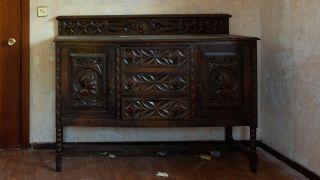 Pintamos un mueble muy antiguo, ¡de rojo! - Antes