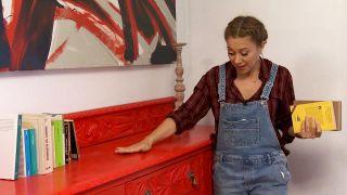 Pintamos un mueble muy antiguo, ¡de rojo! - Paso 4