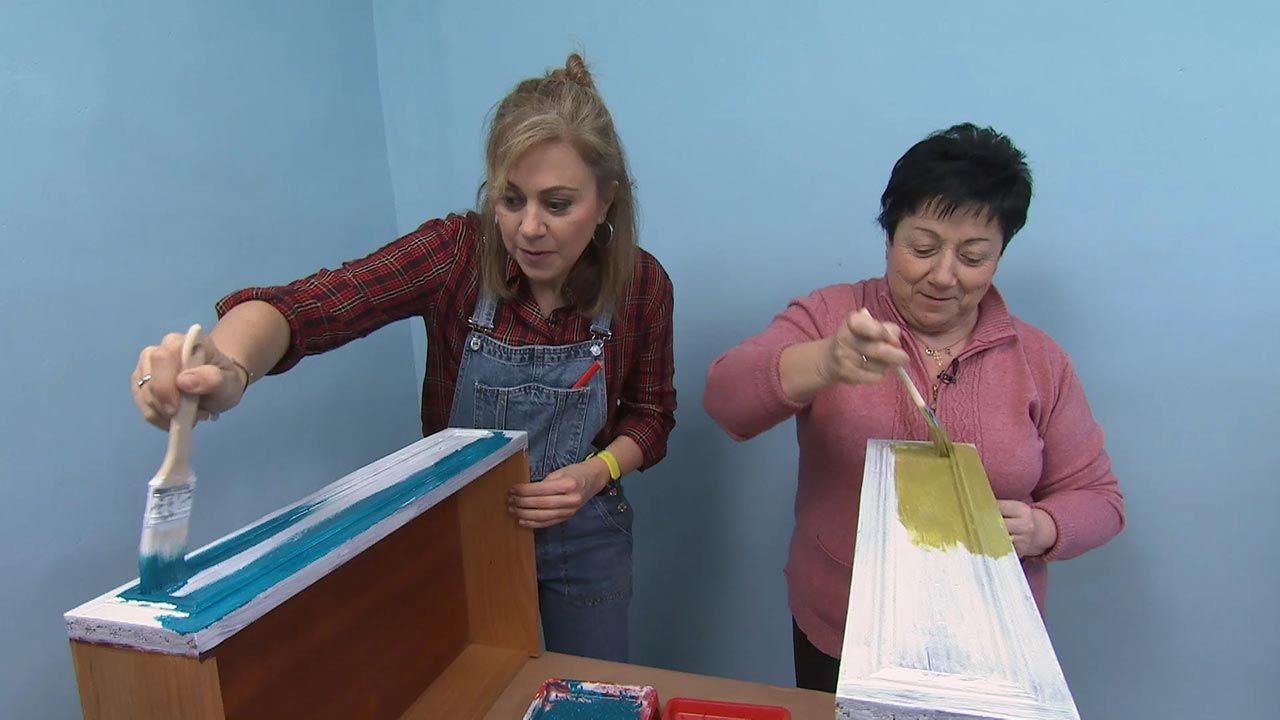 Tipos de pintura: Pintura al agua