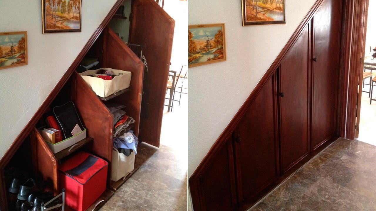 Armario bajo la escalera