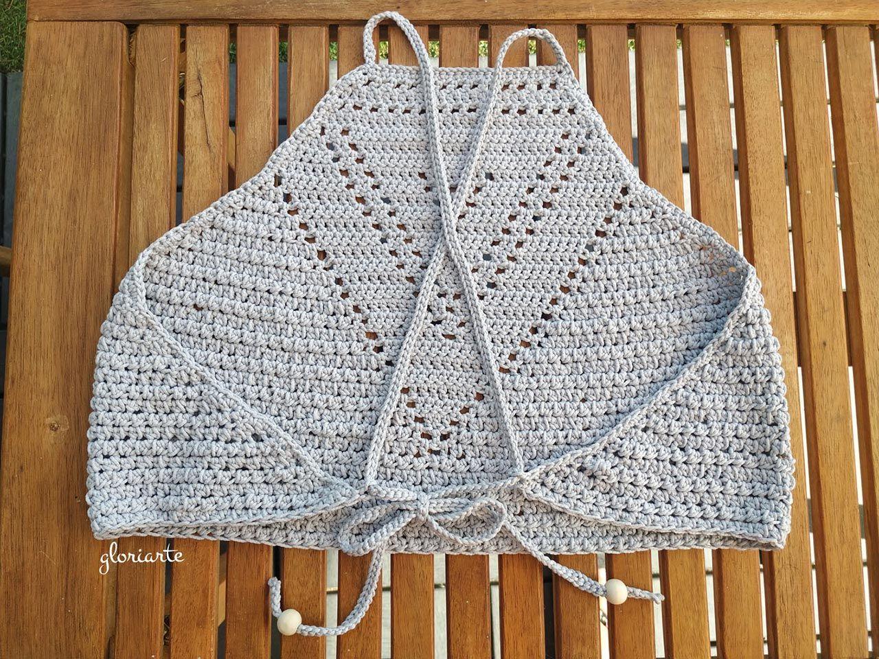 Cómo hacer un crop top de crochet