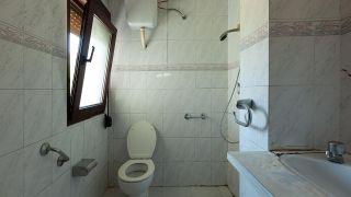 Decorar un cuarto de baño en madera y gris - Antes