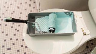 Pintura especial para azulejos y baldosas del baño y cocina