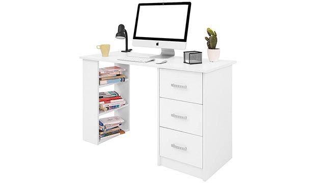 5 escritorios perfectos para la vuelta al cole - Escritorio con cajoneras