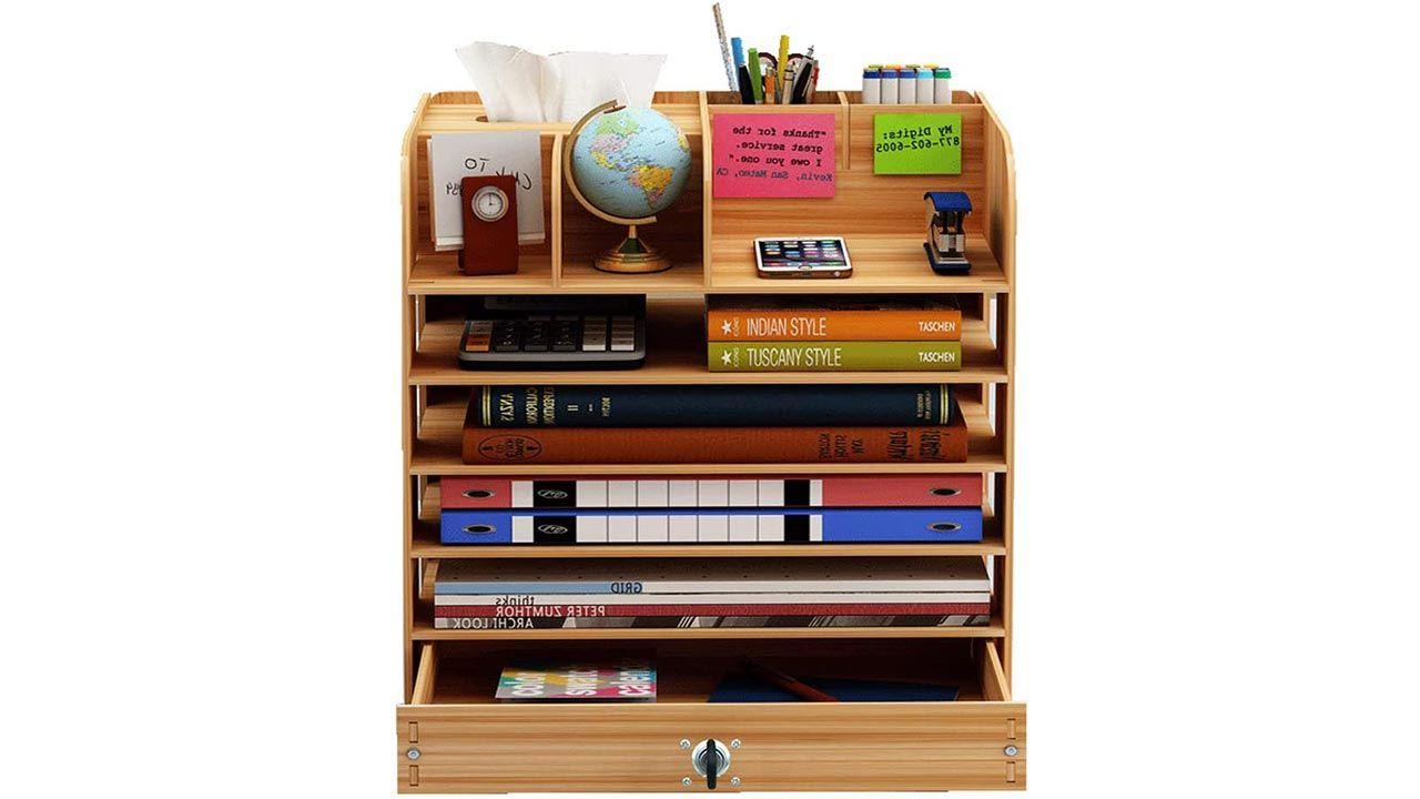 3. Armario para cuadernos y blocs de dibujo con cajón