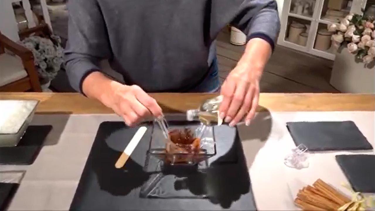 gel capilar de canela y aceite de almendras