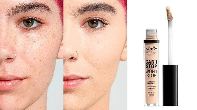 6 imprescindibles que no pueden faltar en tu estuche de maquillaje de otoño - Corrector