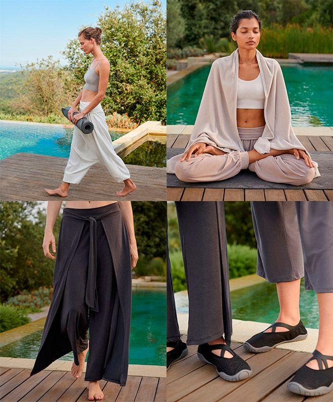 moda y accesorios de yoga Oysho