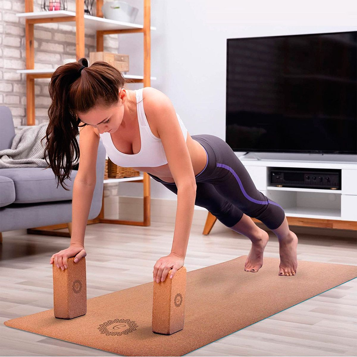 moda yoga accesorios - bloques o ladrillos de yoga