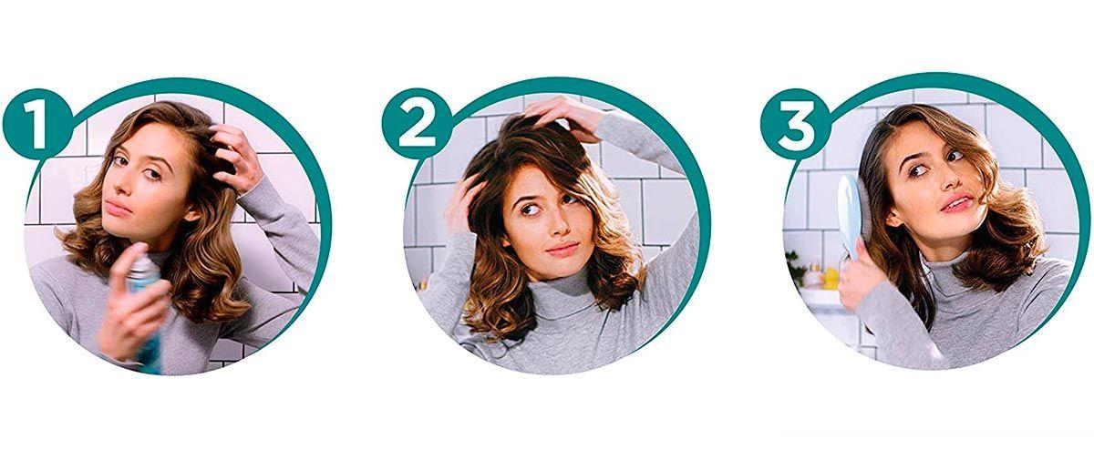 Consejos para que el pelo limpio dure más tiempo - champú en seco