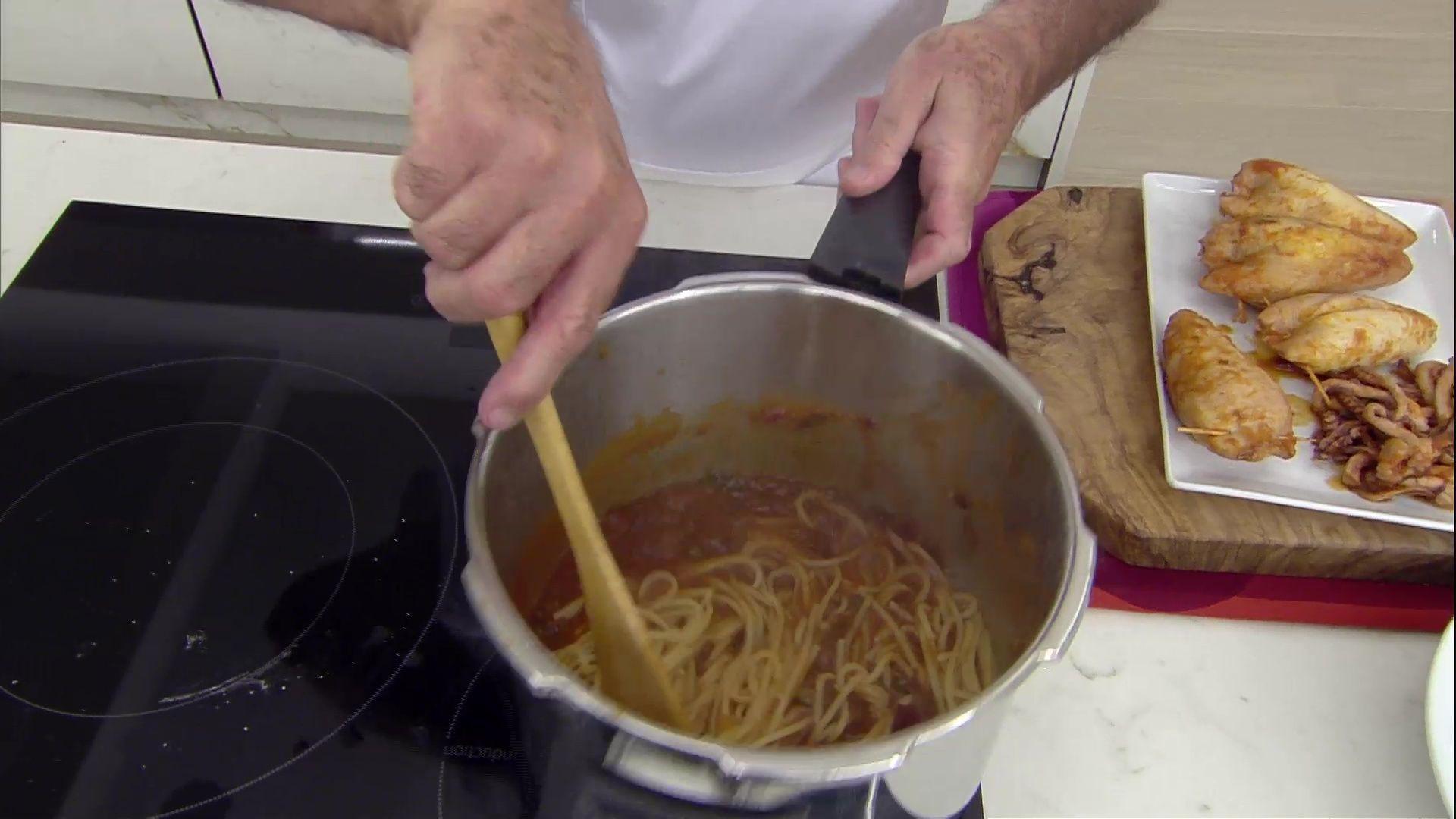 Calamares rellenos a la italiana