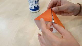 Cómo hacer tipis de papel (¡con plantillas gratuitas!) - Paso 2