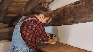 Cómo pintar una cómoda en verde lima - Paso 2
