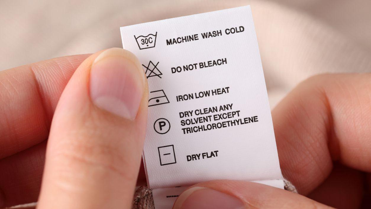 etiqueta ropa