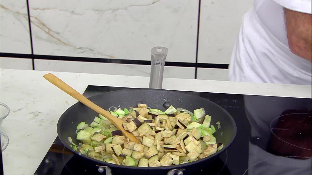 Hojaldre de verduras