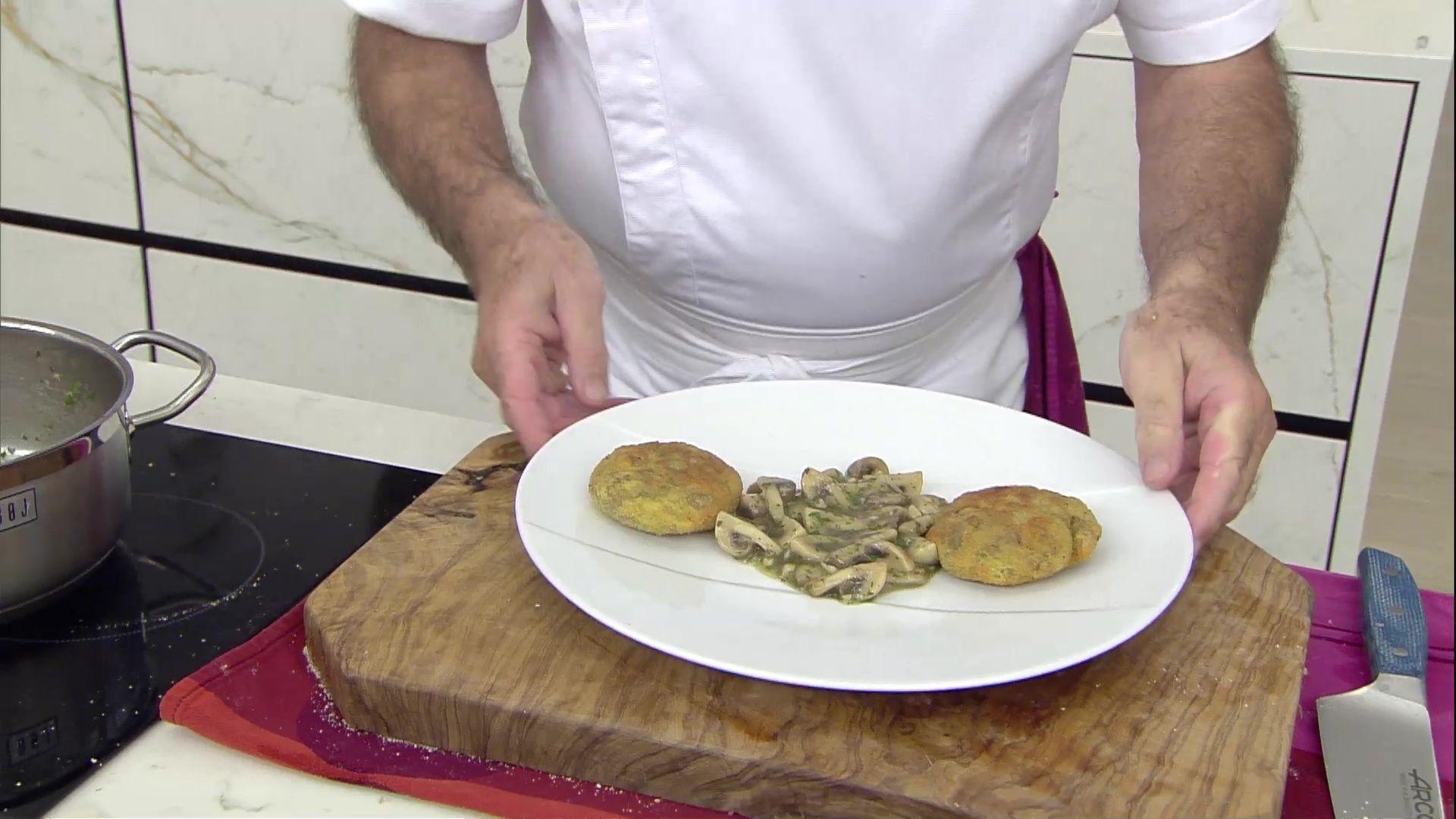 Hamburguesas de patata y rabo