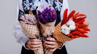Manualidades para decorar con flores secas