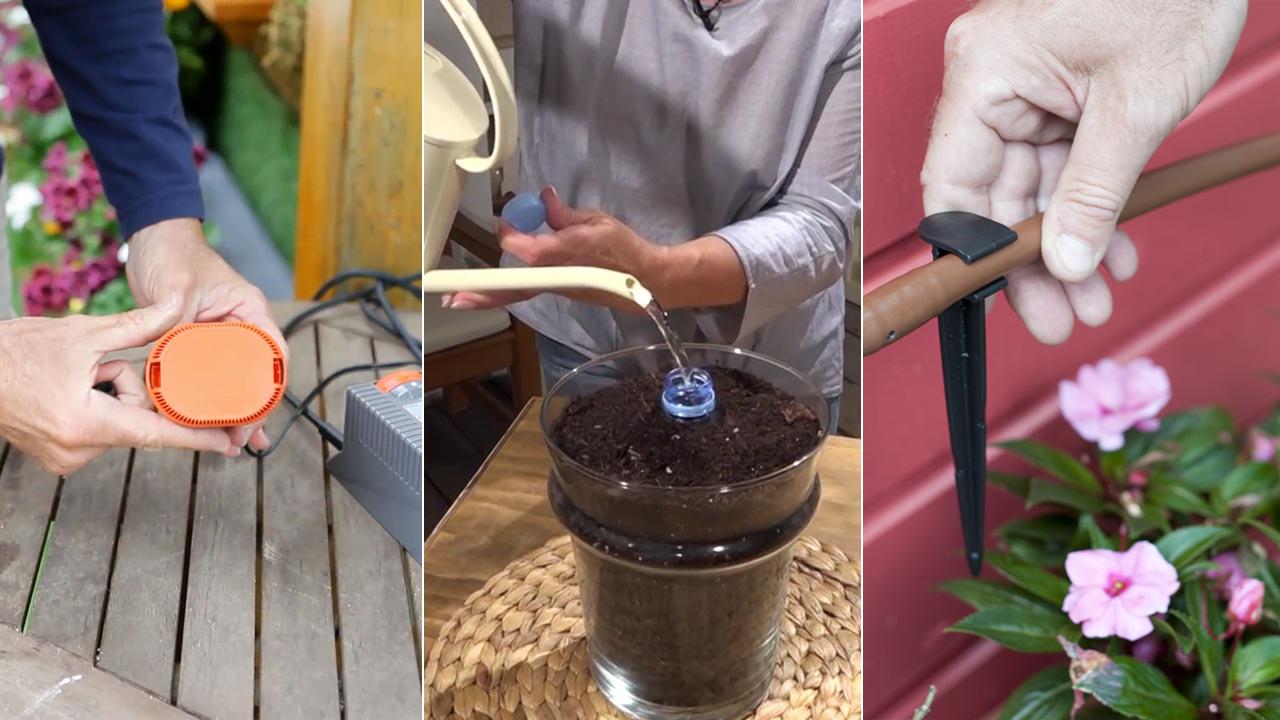 9 sistemas para regar las plantas en vacaciones