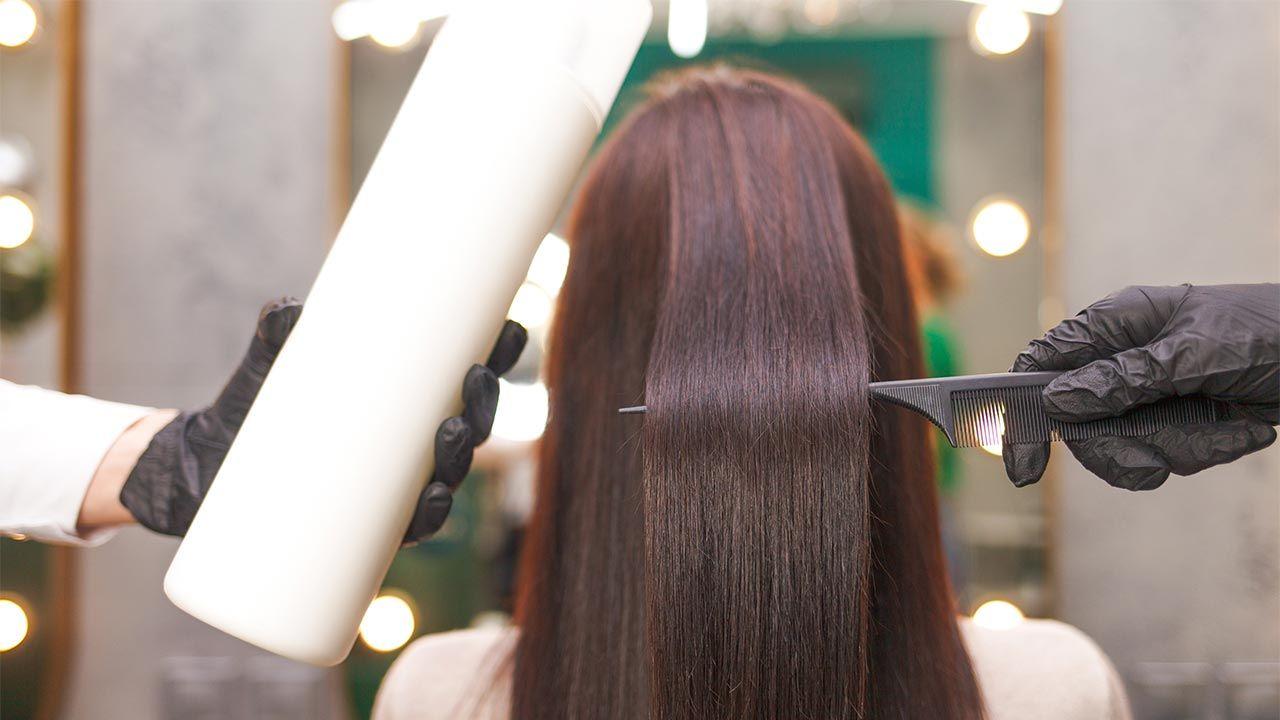 Belleza cabello - alisado brasileño con queratina