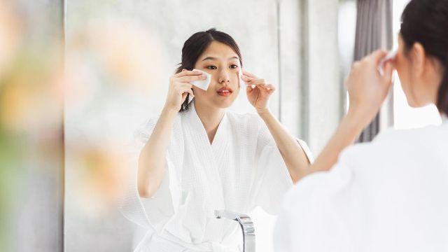 cosmética coreana - limpieza facial desmaquillar la piel