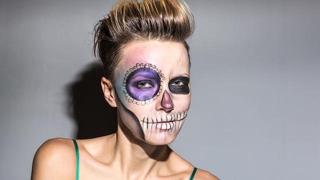 maquillaje duradero de Halloween - desmaquillante en aceite