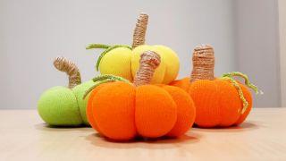 ¡Cómo hacer calabazas de tela! Especial otoño y Halloween