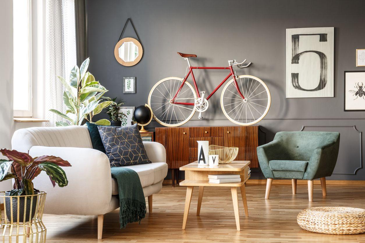 6 cosas vintage que te traerán nostalgia y ahora decorarán tu casa: Bicicletas retro