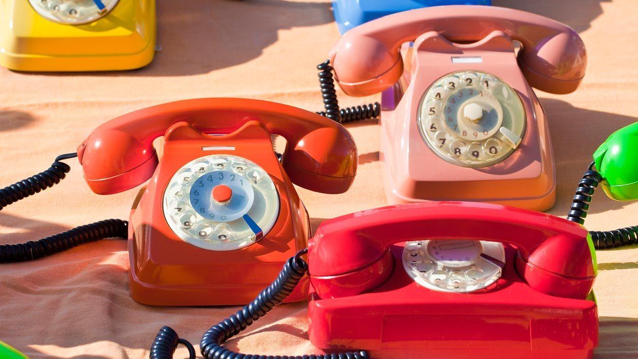 6 cosas vintage que te traerán nostalgia y ahora decorarán tu casa: Teléfonos de ruleta