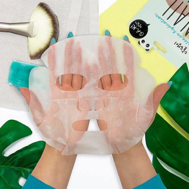 Cosmética coreana - mascarilla facial de pepino