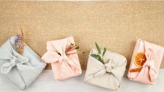 ¡Aprende a envolver regalos con tela Furoshiki! (Envoltura básica: Otsukai Tsutsumi)