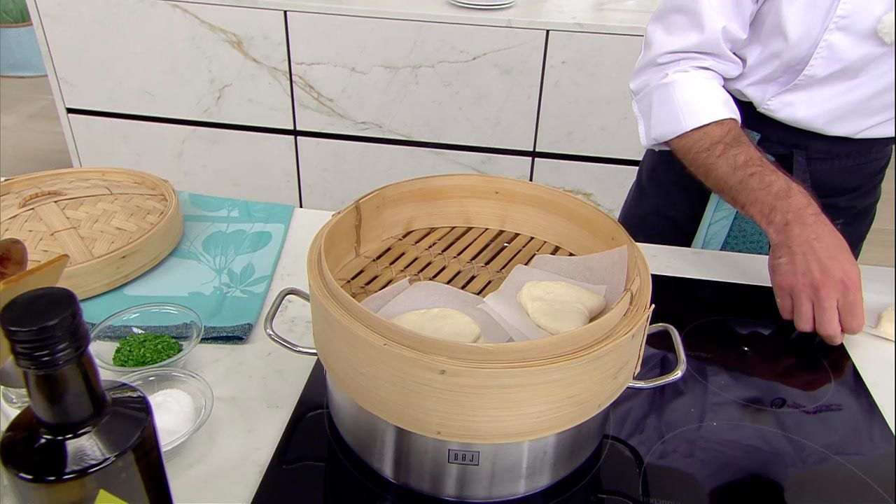 Pan Bao relleno