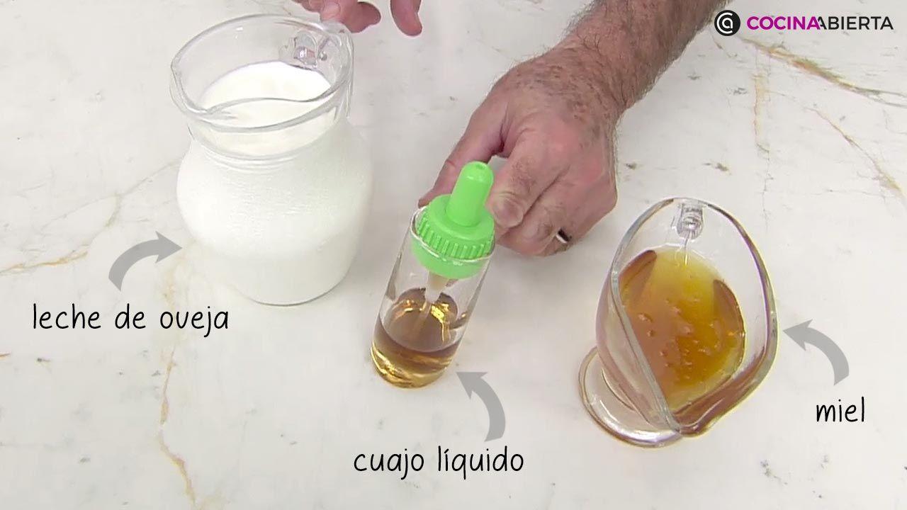 Cómo hacer cuajada casera con miel, receta fácil de Karlos Arguiñano