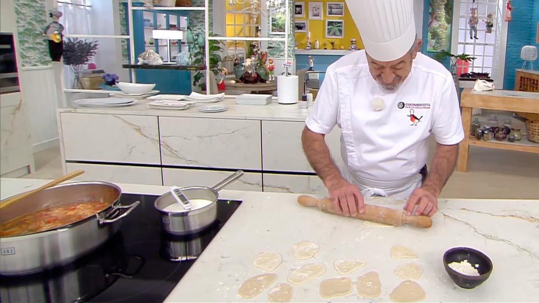 Andrajos con conejo, la receta tradicional de Karlos Arguiñano - paso 4
