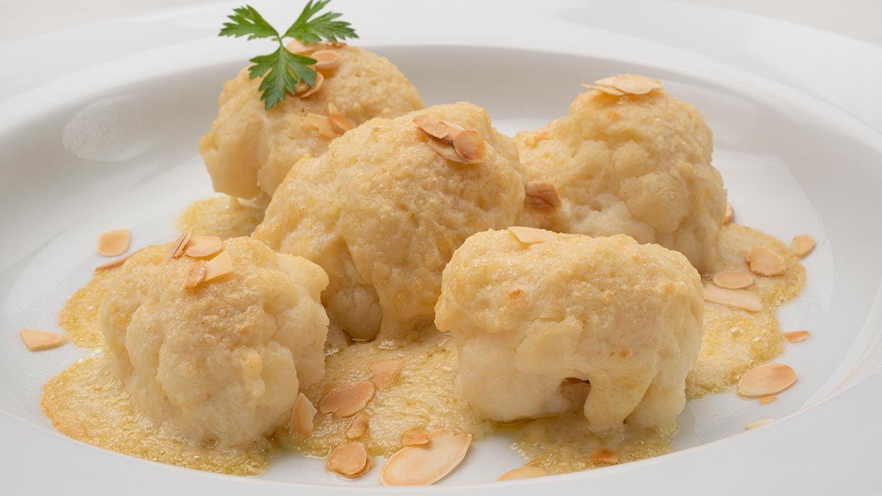 Receta de coliflor con salsa de almendras de Karlos Arguiñano