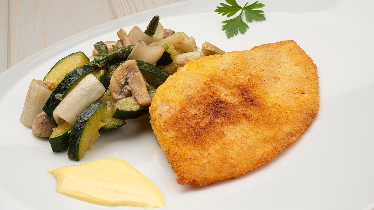 Raya empanada con mahonesa de ajo: sabrosa receta de pescado por Karlos Arguiñano